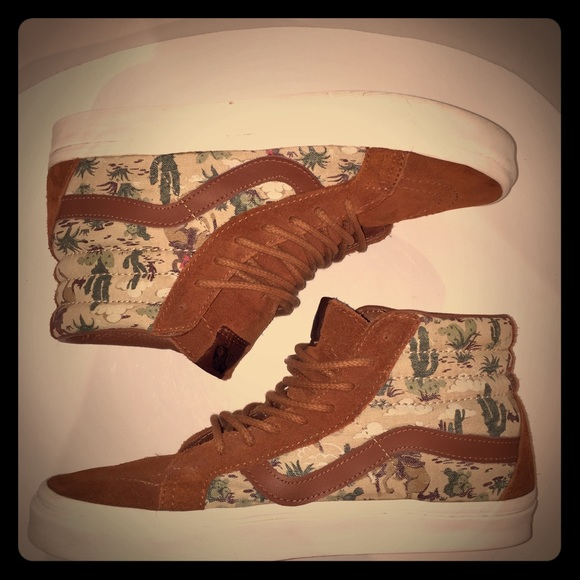 17904ee102d528 Vans Men s Shoes Sk8 hi Desert Cowboy Tortoise. M 5b14b23faa87705d452d7c45